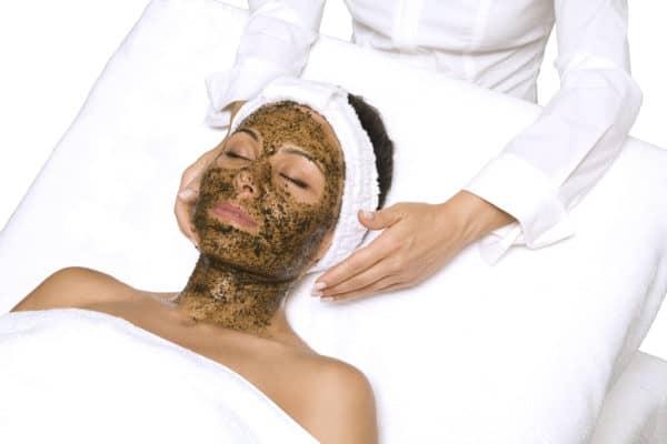Herbal Peel Massaged on Face